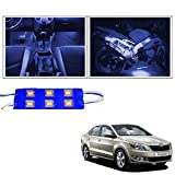 #7: Guance 6 LED Custom Cuttable Blue Car LED Light for Interior/Exterior for Mahindra Xuv 500 2018