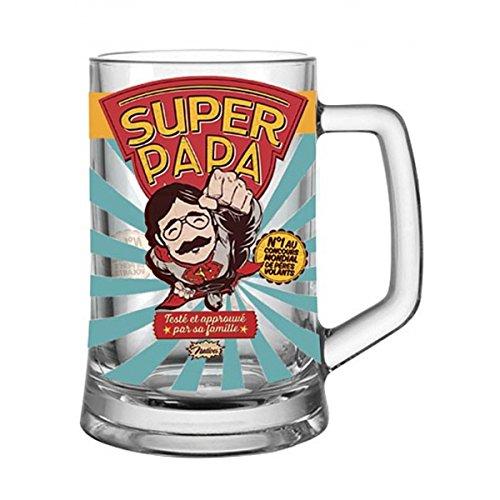 barbacado jarra de cerveza Super Papa, Bock de cerveza, vaso de cerveza,...