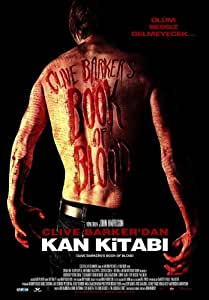 Book of Blood Affiche du film Poster Movie Livre du sang (11 x 17 In - 28cm x 44cm) Turkish Style A