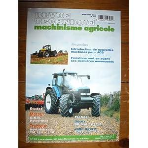 RTMA0153 REVUE TECHNIQUE MACHINISME TRACTEUR AGRICOLE NEW HOLLAND NH SERIE TM DE 120 A 190