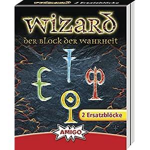 AMIGO Spiel + Freizeit 06902 Wizard Kartenspiel Ersatzblöcke (2 Stck)