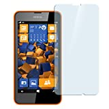 mumbi Hart Glas Folie kompatibel mit Nokia Lumia 630 / 635 Panzerfolie, Schutzfolie Schutzglas(1x)