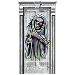 Décoration de Porte Fantôme - Taille Unique