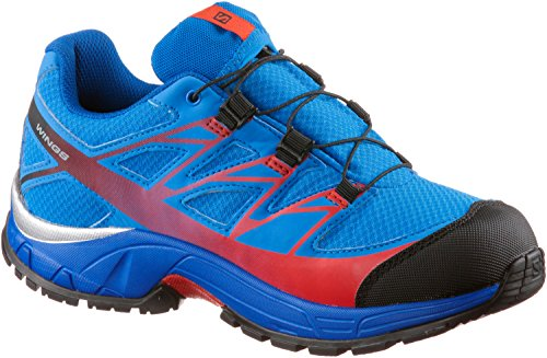 Salomon Jungen L39055300 Trail Runnins Sneakers Blau hAXlv