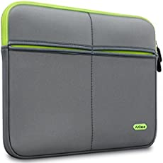 AirCase 13-Inch to 13.3-Inch Laptop Sleeve, Premium, Designer, Suave, 6-MultiUtility Pockets (Grey)