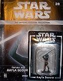 Unbekannt Statue von Blei Star Wars Figurine Collection Nº 39 Jedi Aayla Secura