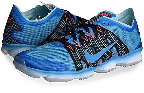 Nike - Zoom Fit Agility 2, Sneaker Donna BLUE LAGOON/BL LGN-CP-BRIGHT CRIMSON