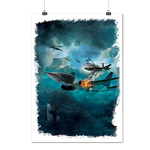 Fighter Jet Cool Fashion Air Combat Matte/Glossy Poster A3 (42cm x 30cm) | Wellcoda