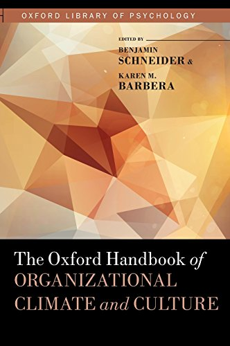 The Oxford Handbook of Organizational Climate and Culture (Oxford Library of Psychology) por Karen Barbera