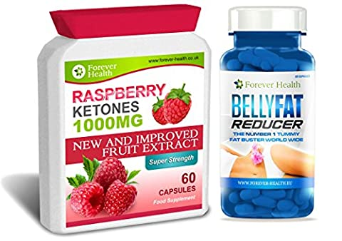 Cétone Framboises PURE Raspberry Ketone PLUS Belly Fat Reducer -