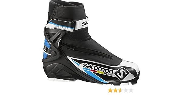 Salomon Pro Combi SNS ClassicSkating Kombi Schuh Black Blue