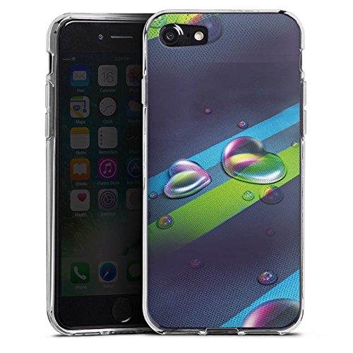 Apple iPhone X Silikon Hülle Case Schutzhülle Liebe Herz Love Silikon Case transparent