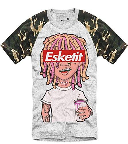 ed6dfae2ae1 E1Syndicate T Shirt Lil Pump ESKETIT Peep Uzi Yachty XAN Supreme Xanax