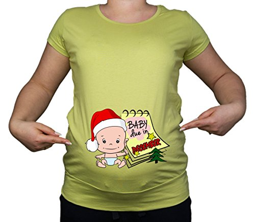 Colour Fashion - T-Shirt - Femme Citron Vert
