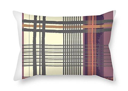 Kissen Fällen 50,8x 66cm/50von 65cm (Zwei Seiten) Nice Wahl für Frau Bench Esszimmer Liegestuhl ihn Paare Colorful Geometrie (Frau Liegestuhl In)
