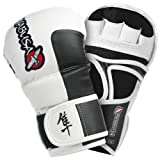 Hayabusa Official MMA Tokushu 7oz Hybrid Gloves - White (XL)