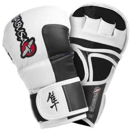 HAYABUSA - GUANTI TOKUSHU HYBRID - BIANCO, GUANTI MMA, XL