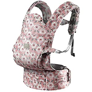 YZ Baby Carrier, Ultra-Light Baby Cuddling Summer Multi-Function Four Seasons Universal Baby Carrier Baby Support Strap Multi-Color Optional,Pink   10
