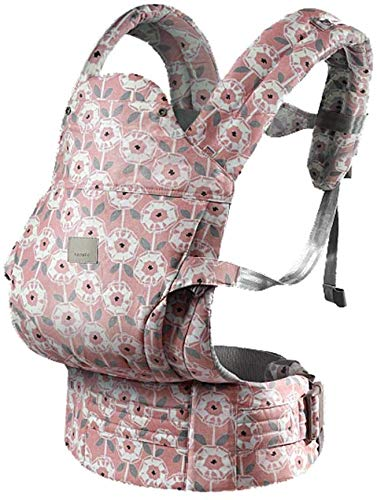 YZ Baby Carrier, Ultra-Light Baby Cuddling Summer Multi-Function Four Seasons Universal Baby Carrier Baby Support Strap Multi-Color Optional,Pink YZ Strengthen bond with baby: Forging a close bond with your infant is vital to their development. Our wrap keeps baby close to your warm body & heartbeat where they feel safe More comfortable:Baby carriers can help mothers carry their baby better. A soft stool helps the baby fix the buttocks and provide greater support for the baby. Windproof cap, winter windproof, summer sunscreen, cold season, children are susceptible to cold, most of them caused by cold in outdoor activities, windproof cap can effectively prevent children's head from catching cold and cold air inhalation, reflective heat insulation, baby's summer sun umbrella. 1