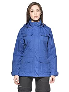 Regatta Women's Warmspell Waterproof Jacket, Women, turquoise, IT 44 (US 12)