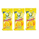 #2: Greenshield Anti Bacterial Household Wipes 50's Pack of 3