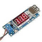 DROK® DC-DC Buck convertidor de voltaje 4.5-40V 12V a 5V / 2A Step-down voltios Transformador estabilizador regulador de voltaje del módulo de fuente