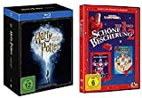 Harry Potter Blu-ray Box Komplettbox Teil 1-7 (1+2+3+4+5+6+7.1+7.2) Alle Teile + Schöne Bescherung 1 & 2 [2 DVDs] Teil 1+2