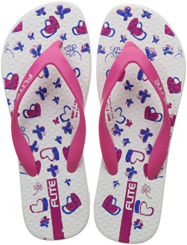 FLITE Women's Blue Pink Flip-Flops-6 UK/India (39.33 EU)(FL0227L)