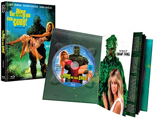 Das grüne Ding aus dem Sumpf [Blu-Ray+DVD] - uncut - auf 222 limitiertes Mediabook Cover A [Limited Collector's Edition]