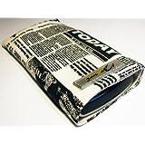 Norrun Handytasche / Handyhülle # Modell Nevelong # ersetzt die Handy-Tasche von Hersteller / Modell Nokia C3-01 # maßgeschneidert # mit einseitig eingenähtem Strahlenschutz gegen Elektro-Smog # Mikrofasereinlage # Made in Germany