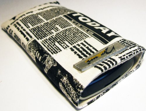 Norrun Handytasche / Handyhülle # Modell Nevelong # ersetzt die Handy-Tasche von Hersteller / Modell Samsung SGH-X140 # maßgeschneidert # mit einseitig eingenähtem Strahlenschutz gegen Elektro-Smog # Mikrofasereinlage # Made in Germany