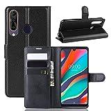Fertuo Wiko View 3 Pro Case, Premium Leather Wallet Case