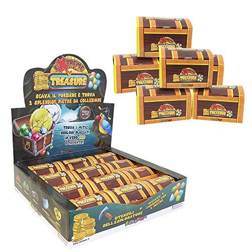 Sbabam- Pack de 5 Cajas de cartón para Encontrar el Tesoro, 131-18