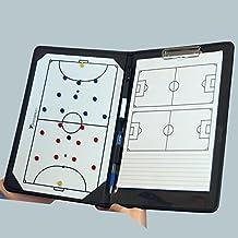 Tabellone da calcio magnetico, portatile, per allenatori, formato