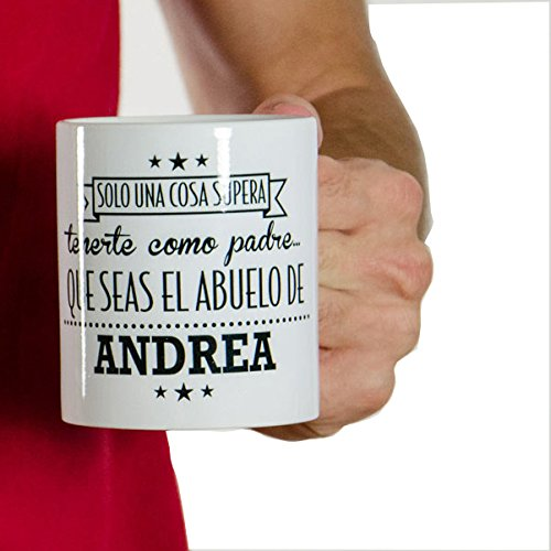 Regalo personalizable padres: taza mejor padre abuelo