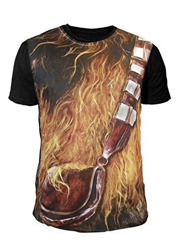 Star Wars - Krieg der Sterne Herren T-Shirt - Chewbacca Suit (Multicolor) (S-XL) (XL)