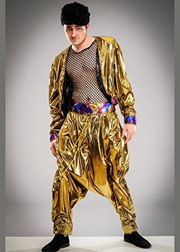 Herren 80er Jahre MC Hammer Style Rapper - Mc Hammer 80er Jahre Kostüm