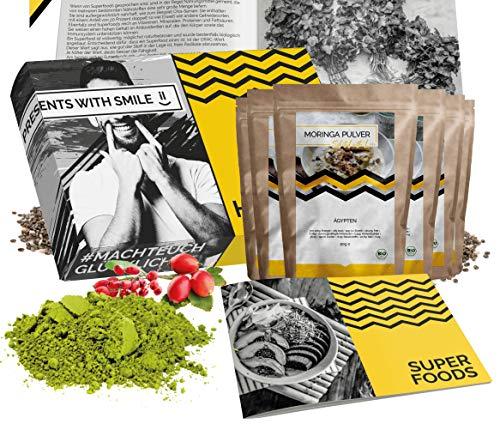 BIO Superfood Probierset 5x50g Superfoods Geschenkbox   Superfood für Einsteiger Geschenkidee 100{a356d6d361063e7637b361fcbaaf5abc58628110cd9454042b03d85dd816e8dc} BIO Geschenkset für Frauen Männer   Geburtstag Weihnachten