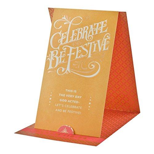 Dayspring Geburtstag Stand Up Grußkarten, Feiern, 3ct w geprägt Silber Umschlägen, Made in den USA (43021)
