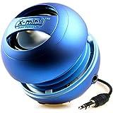 X-Mi X Mini II Capsule-Lautsprecher der 2. Generation für iPhone / iPad 2/3 / iPod / MP3 / Laptop - Blau