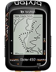 "Bryton Rider 450E GPS Cyclisme, Noir, 2.3"""