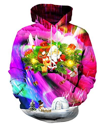 Syaimn Unisex 3D gedruckte Mode lässig personalisierte Hoodies Sweatshirts klein - Braune Drache-shirt