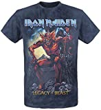 Iron Maiden Legacy of The Beast 2 T-Shirt Grau/Navy XXL