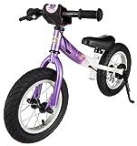 BIKESTAR-Premium-305cm-12-pulgadas-Bicicleta-sin-pedales-para-las-princesas-mas-pequeas-a-partir-de-los-3-aos–Edicin-Sport–Lila-Blanco