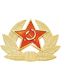 NEW RUSSIAN RED STAR SOVIET PIN BADGE