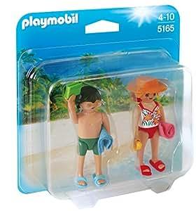 Playmobil - 5165 - Duo Pack Couple de Vacanciers à la Plage