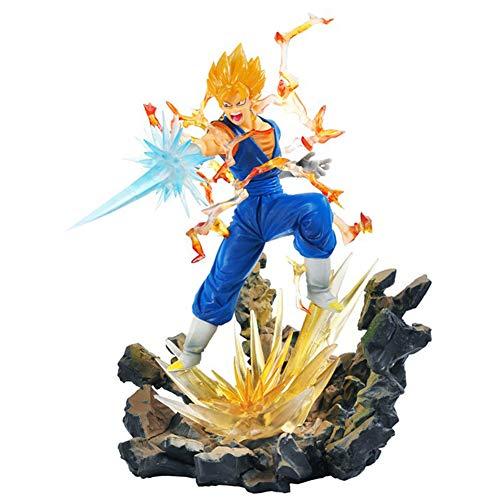 Qdegui 24 cm Basis Figur Aktionsspielzeug Dragon Ball Z PVC Super Saiyajin Actionfigur Sammelfigur (Dekorationen Z-party Ball Dragon)