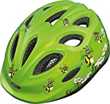 Abus Unisex - Kinder Fahrradhelm Smiley, honey bee, 45-50 cm, 39335-8