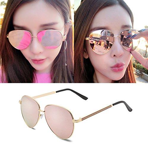 neue, elegante personalisierte sonnenbrille, meine sonnenbrille, männliche flut - brille, rundes gesicht, koreanische retro - augen,die hauptfigur der farbe gold pulver film (bag) kasten