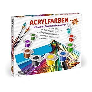 Schipper 605190741 605190741-Malen nach Zahlen-Acrylfarben Set mit 36 Farben